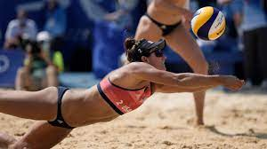 Olympic beach volleyball ...
