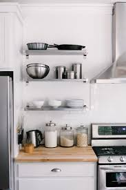 kitchen shelf. how to style your open kitchen shelving the baker via cocokelley shelf s
