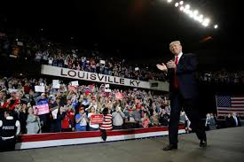 Image result for trump kentucky rally pics