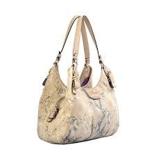 ... Coach Madison Embossed Metallic Python Maggie Hobo 03 ...
