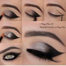 step by step y smokey eyes