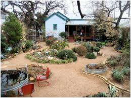 Photo 33 of 44 Full Image For Mesmerizing Xeriscaping Ideas For An Enclosed  Fenced Backyard A 62 . ( Backyard