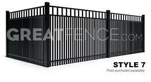 metal fence styles. Aluminum Fence Designs Regarding Metal Plans Wood And Pictures . Corrugated Styles N