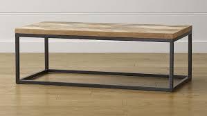 parquet wood metal coffee tables