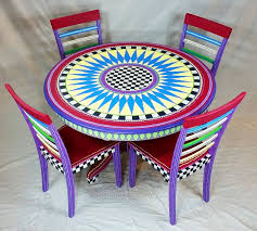 fun painted furniture. the chic technique unique and fun lisau0027s hand painted furniture will be a favorite in your home no two pieces alike because you work together fun