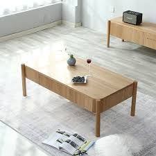 small apartment solid wood coffee table
