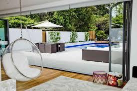 Modern Hanging Chair Delightful Modern White Home In London Interior Design