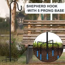 shepherd hooks for bird feeder lantern
