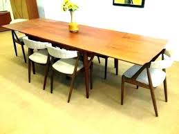 west elm mid century glass dining table modern room extendable expandable kitchen