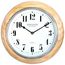 oak wall clock medium image for light clocks giving your