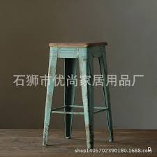 american country style loft bar stool wood old antique wrought iron bar chairs bar stool wholesale american country style loft