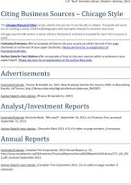 Citing Business Sources Chicago Style Pdf