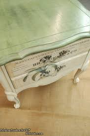 Decorative Finishes Studio The Botanical Table Step By Step Furniture No Sanding And Workshop