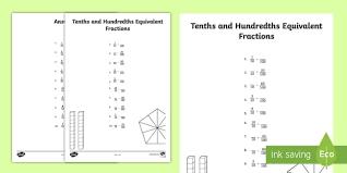 Tenths Hundredths Thousandths Chart Tenths And Hundredths Place Value Chart Place Value