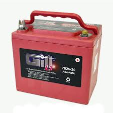 Gill Sealed Lead Acid Aircraft Battery 12v 7025 20
