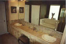 bathroom countertop tile ideas. Image Of: Tile Bathroom Countertop Ideas A