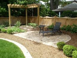 simple landscaping ideas. Comely Simple Landscaping Ideas For Front Of Small House Backyard N