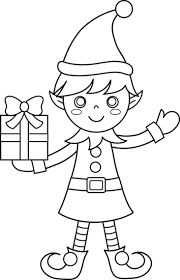 Click On The Below Best Printable Christmas Elf Coloring Pages To