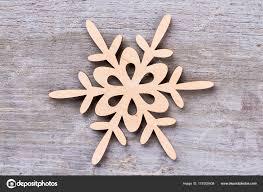 Dekoration Aus Holz Schneeflocke Weihnachtsstern