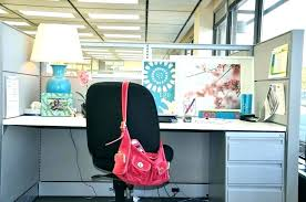 decor office. Cute Desk Ideas For Work Cubicle Decor Office Decorating Themes Best Design Interior