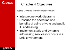 easy subnetting chapter objectives topics covered in this  2 chapter 4 objectives topics