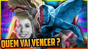 VISÃO vs VISÃO BRANCO [ WANDAVISION EP 9 TEORIA ] - YouTube