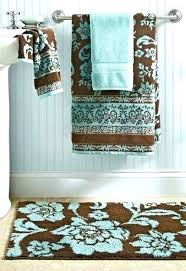 brown bathroom rugs teal and brown bathroom brown bathroom sets also purple set aqua and brown brown bathroom rugs