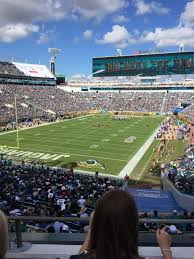 Tiaa Bank Field Seating Chart With Rows And Seat Numbers 61 Veritable Everbank Stadium View From Seats