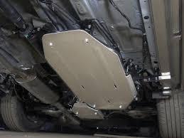 ZKTCC00342 <b>Защита бака</b> ТСС <b>алюминий 4</b> мм для Honda CR-V ...