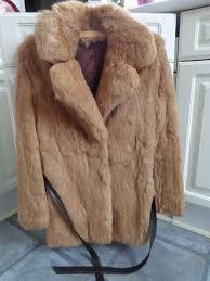 vintage super soft rabbit fur jacket oversized collar as new vintage coney fur