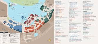 disney springs guide map with the town center  photo  of