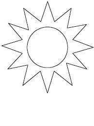 Als de zon schijnt, dan zie je niet altijd een regenboog. Kids N Fun 41 Kleurplaten Van Vormen