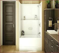 Acrylic Bath Vs Cast Iron Acrylic Soaking Tub Reviews 55 Vada Acrylic Shower Tub Combo