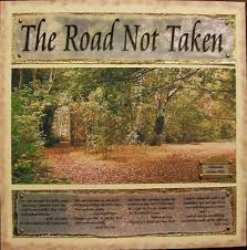 academic help literary analysis of robert frost s poem the road  in one design the two paths are shown in great detail on one side a thin line of pious folk ascend a hill past several churches and chapels