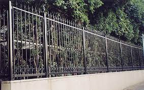 fencing spray painting by ceilcote painters