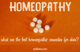Homeopathic treatments for skin diseases: psoriasis, acne, eczema...