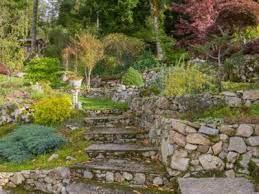 hillside garden watering information