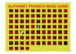 I found this interesting little project while browsing the internet and decided to create it to brush up on my java. Alphabet Phonics Maze Game A Z With Sounds English Esl Powerpoints For Distance Learning And Physical Classrooms