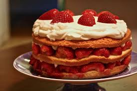 Strawberry Cream Cake Recipe Simplyrecipescom