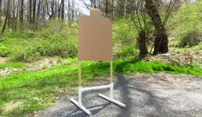 how to build a 15 pvc target stand