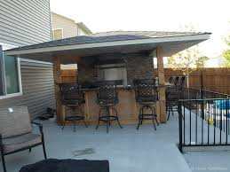 build your own outdoor bar plans