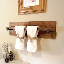 towel hanger ideas. Unique Towel Rack Ideas Rustic Reclaimed Hanger With 2 Railroad Spike Hooks X N