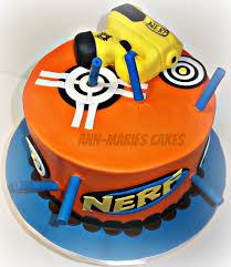 nerf gun 22 cakes CakesDecor