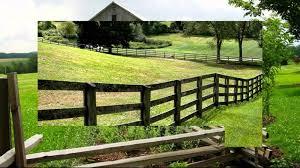 wooden farm fence. Wooden Horse Fence Ideas Backyard Farm