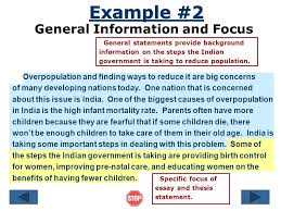 the introductory paragraph ppt 7 general information and focus