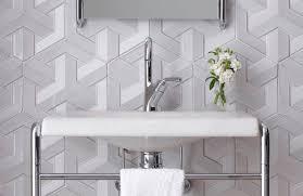 3d wall tile bathroom. Delighful Tile Indoor Tile  Bathroom Wall Concrete  GEO WEAVE To 3d Wall Tile Bathroom A