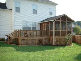 screened in deck. Screening A Deck With Screened Porch Wooden Structures Hand Crafted Playsets In