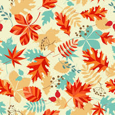 Fall Patterns Amazing Seamless Pattern With Autumn Leaves And Berries Royalty Free