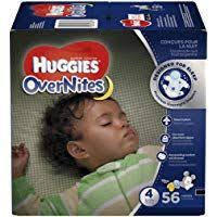 Huggies Overnites Diapers Size 4 56 Ct Big Pack Overnight