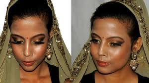 asian indian traditional bridal makeup tutorial dark um brown skin tone minniedas you